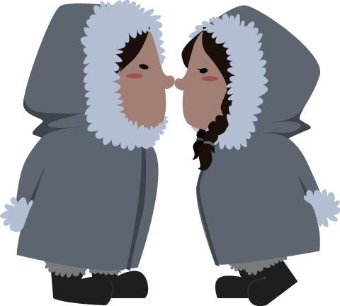 eskimo kiss